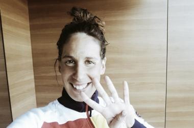 El mar de Setúbal conduce a Erika Villaécija a los Juegos de Río