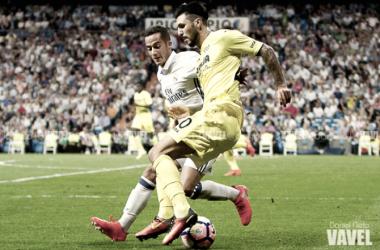 Instante del partido entre el Real Madrid y Villarreal la temporada pasada/ Foto: Vavel