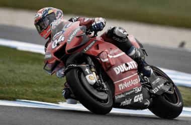 Andrea Dovizioso en el GP de Japón. | Fuente: MotoGP