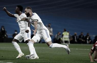 Festival de goles en la vuelta al Santiago Bernabéu
