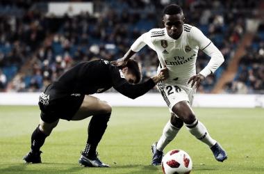 Vinicius se rompió frente al Ajax. Imagen: La Liga