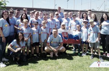 Veinticuatro jóvenes eslovacos disfrutarán de Vigo y del RC Celta