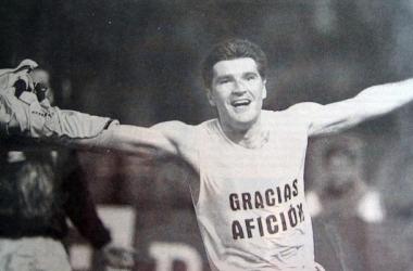 El ex jugador del Celta de Vigo, Vlado Gudelj | foto:Hemeroteca Faro de Vigo.