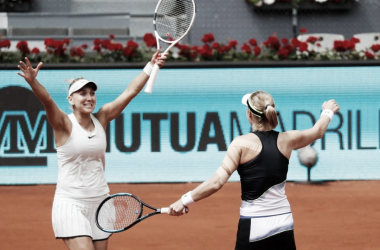 Makarova y Vesnina se coronan sobre Madrid