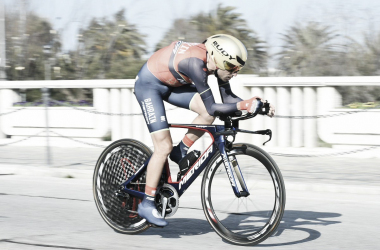 Vincenzo Nibali. Fonte: Tirreno-Adriatico/Twitter