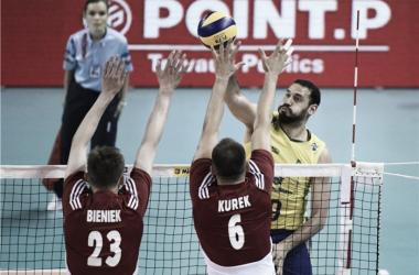 Brasil domina e vence Polônia sem dificuldades na Liga Mundial