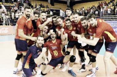 Equipo español de voleibol. Foto: rfevb.com
