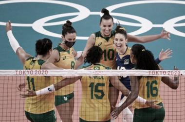Sets e melhores momentos de Brasil 3 x 1 Rússia no vôlei feminino pelas Olimpíadas de Tóquio