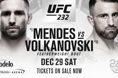 Gran duelo en las 145 libras para terminar el año (Foto: UFC.com)