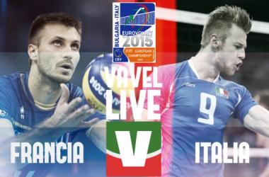 Risultato Francia - Italia (3-2) EuroVolley maschile 2015