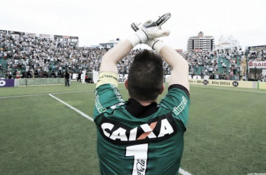 Volpi se mostra emocionado com a fase vivida no Figueirense (Foto: Divulgação/Figueirense)