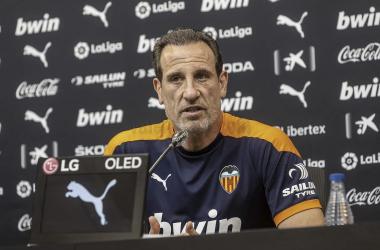 Voro en rueda prensa / Foto: Valencia CF