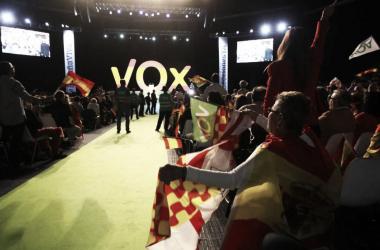 Acto de Vox en Vistalegre / Foto: Página Oficial de VOX