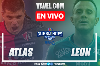 Resumen y goles: Atlas 1-3 León en Guard1anes 2021 Liga MX
