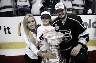 Slava Voynov estuvo presente en las dos Stanley Cups que han ganado en esta década Los Ángeles Kings | Foto: GettyImages