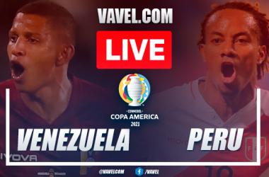 Goal and highlights: Venezuela 0-1 Peru in 2021 Copa America