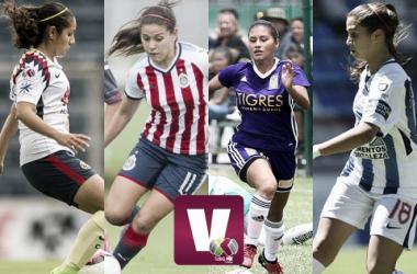 Definidas las semifinales de la Liga MX Femenil