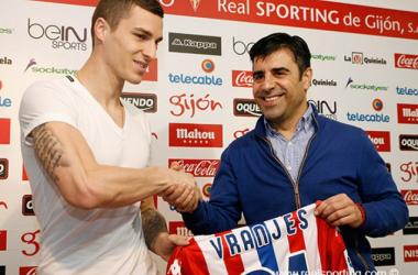 Vranjes negocia su salida del Sporting de Gijón