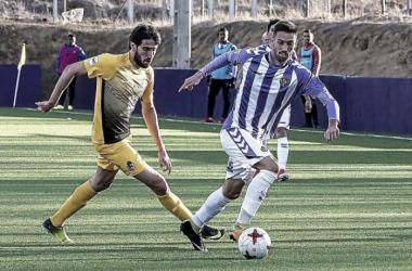 """""""El filial blanquivioleta y la Deportiva apenas suman un punto en un partido en el que brillaron los porteros"""" / Foto: Photogenic / MAG"""