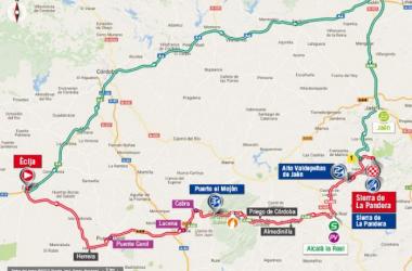 Vuelta a España 2017, 14^ tappa: Écija – Sierra de La Pandera, arrivo in salita
