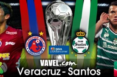 Resultado Veracruz - Santos en Liga MX 2014 (2-2)