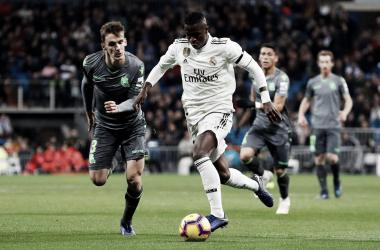 Lo único positivo de esta tarde de Reyes en el Bernabéu, Vinicius Jr (Foto: Real Madrid C.F).