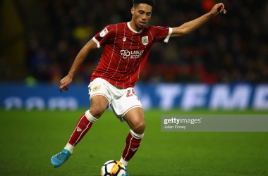 Vyner, pictured, has made 13 appearances so far for Bristol City (Getty Images: Julian Finney)