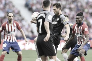 Resumen Sevilla 1-1 Atlético de Madrid en LaLiga Santander 2019