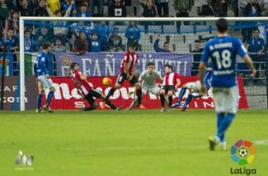El Real Oviedo deja vivos a los 'katxorros'