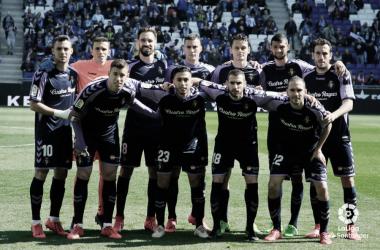 Plantilla del Real Valladolid // Foto: La Liga