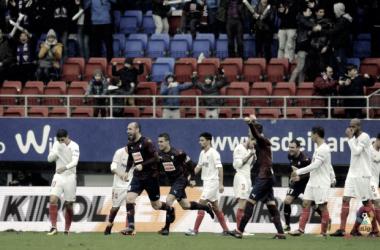 El Sevilla fue completamente humillado en Ipurúa | Foto: LaLiga