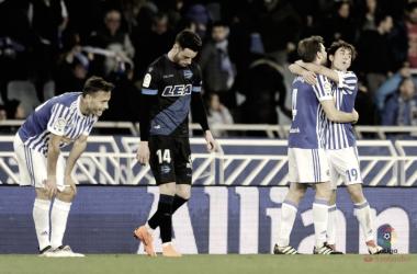 Real Sociedad vs Deportivo Alavés: puntuaciones de la Real Sociedad, jornada 27 de LaLiga Santander