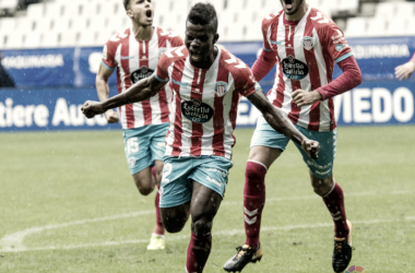 Ramón Azeez celebrando su segundo tanto esta temporada | Foto: LaLiga