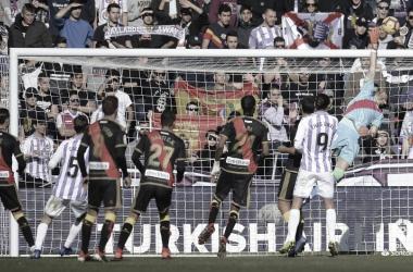 Jugada de ataque del Valladolid | Foto: LaLiga Santander