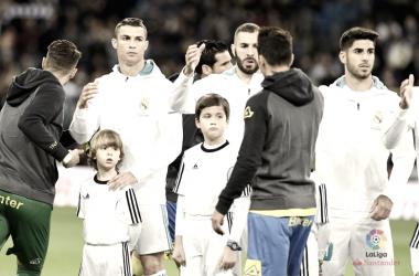 El Real Madrid, con la mente en la Champions