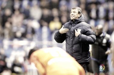 José González dando instrucciones | La Liga