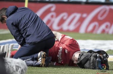 "Kjaer: ""He tenido muy mala suerte con las lesiones"""