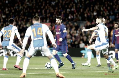 Messi acaba con el sueño de un combativo Leganés