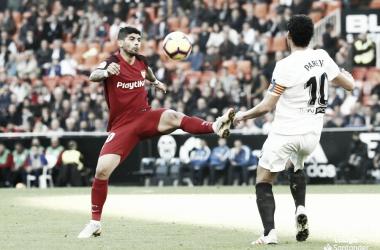 Resumen Valencia vs Sevilla en La Liga Santander 2019 (0-1)