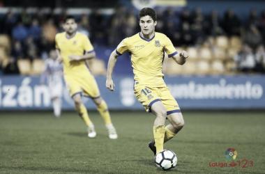 Álvaro Peña la pasada jornada ante el Valladolid | LaLiga.es