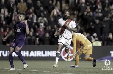 Bebé tras un gol | Fotografía: La Liga