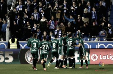 El Betis ha abierto el abanico de goleadores esta campaña | Imagen: LaLiga