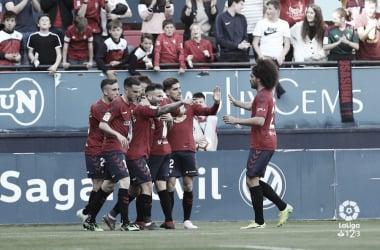 Osasuna - Deportivo: puntuaciones de Osasuna en la 34ª jornada de LaLiga 1 2 3