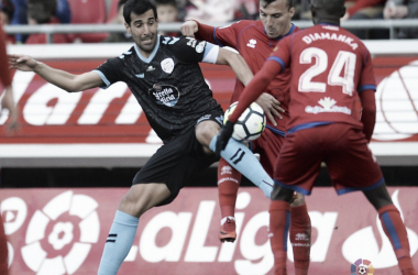 Numancia - Lugo; puntuaciones del Lugo, 35ª jornada de Segunda División