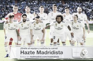Primer once del Real Madrid con Zidane I Foto: LaLiga