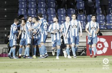 Una imagen del encuentro de la última jornada disputado ante el Real Zaragoza . Fotografía: La liga