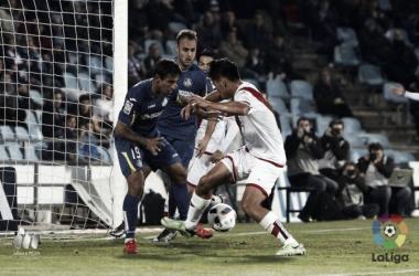 El Rayo más goleado frente al Getafe menos goleador