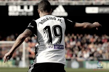 Rodrigo Moreno en el partido frente el Leganés | Fuente: LaLiga Santander
