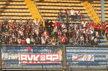 Aficionados del Rayo Vallecano durante un partido   Fotografía: La Liga