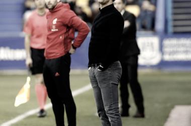 Joseba Etxeberría, entrenador del C.D Tenerife. Foto vía: LaLiga1|2|3